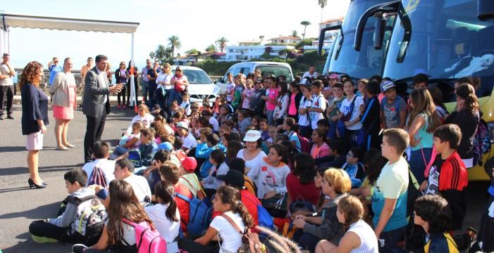 El municipio promueve el turismo infantil con una nueva versión de 'Descubre Los Realejos'