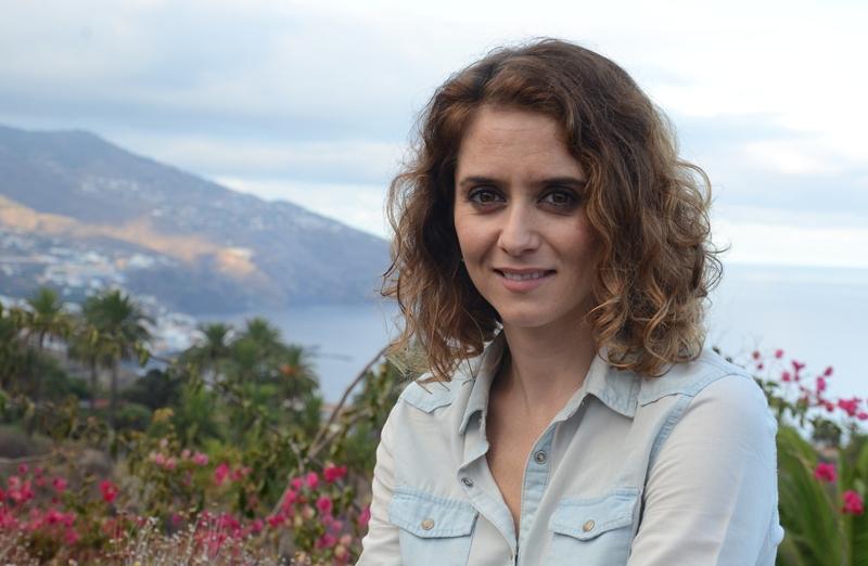 Isabel Díaz Ayuso, en el Parador de La Palma. | D. S.