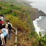 La naturaleza y el ocio activo sigue siendo lo más valorado por los turistas en La Palma. | DA