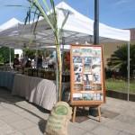 Mercadillo del agricultor de Barlovento, donde se celebra el sorte. ADER La Palma.