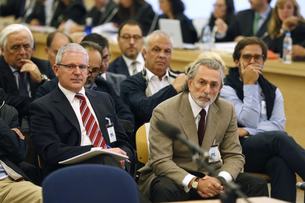 Pablo Crespo y Francisco Correa durante el juicio por el Caso Gürtel | FOTO: EUROPA PRESS