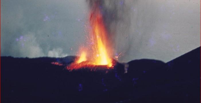 Fuencaliente expone imágenes inéditas del Teneguía en el 47 aniversario de su erupción