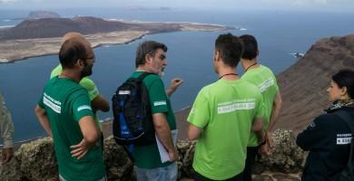La ESA entrena con Pedro Duque a astronautas en Lanzarote