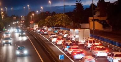 Santa Cruz y Las Palmas, de las regiones con más tráfico de España