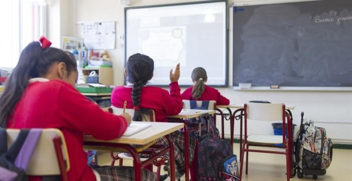 Educación mantiene las clases para hoy lunes