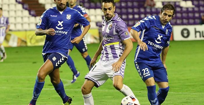 El Tenerife se despide de la Copa del Rey tras caer ante el Valladolid (3-1)