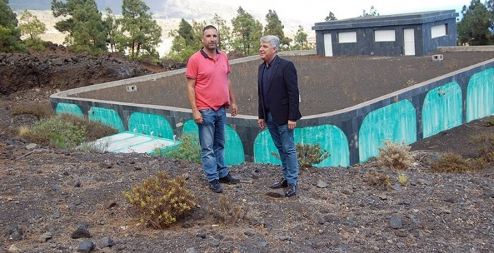 El depósito de El Volcán resolverá el problema de abasto de agua en Arafo