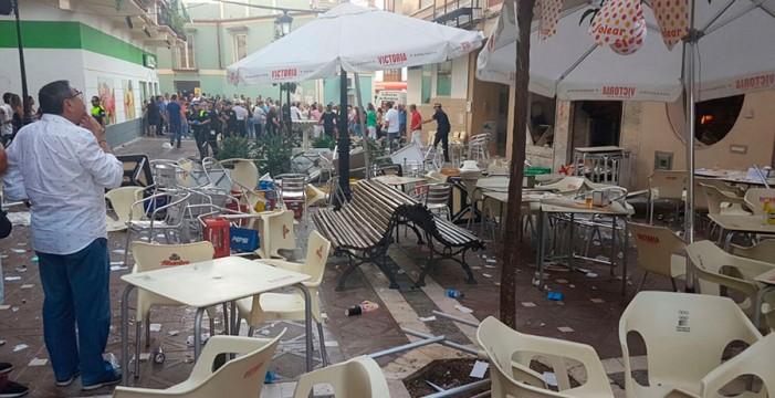 La explosión por escape de gas en el bar de Vélez (Málaga) se salda con 90 atendidos, cinco de ellos graves