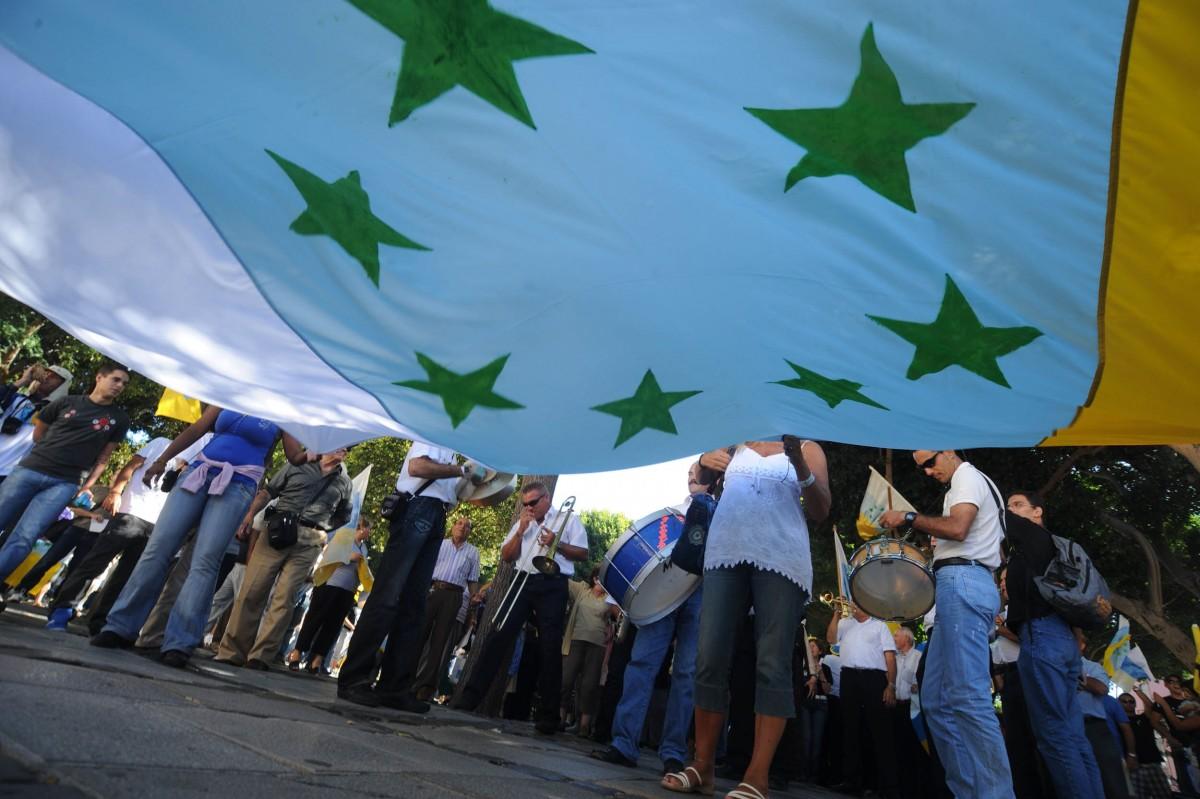 Resultado de imagen de bandera siete estrellas verdes