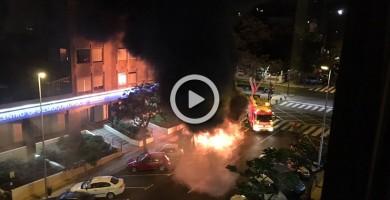 Arde un contenedor en la zona de El Chapatal