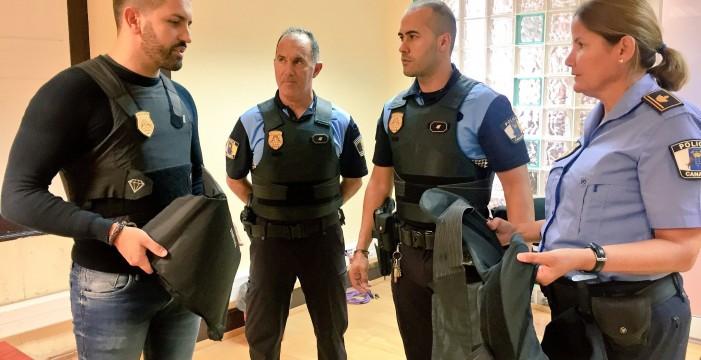 La Policía Local de La Laguna contará desde este año con 30 chalecos antibalas