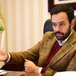 """El alcalde subraya la confianza """"recíproca"""" que existe entre PP y CC, socios de gobierno desde el inicio del mandato. Sergio Méndez"""
