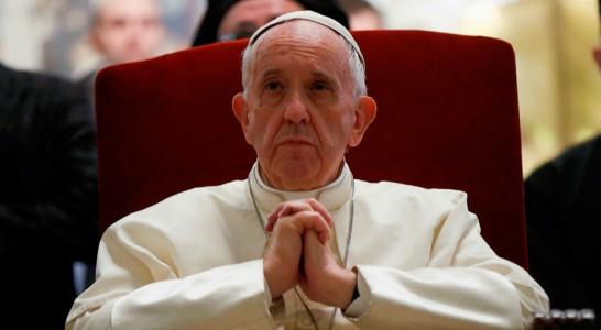 """El Papa reza por que Trump se deje guiar por """"valores éticos"""""""
