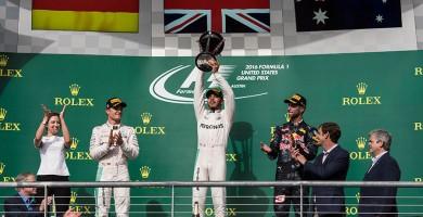 Hamilton aprieta a Rosberg; Alonso y Sainz firman su mejor actuación del año