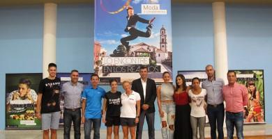 17 deportistas locales protagonizan la nueva campaña de las cinco zonas comerciales abiertas del municipio