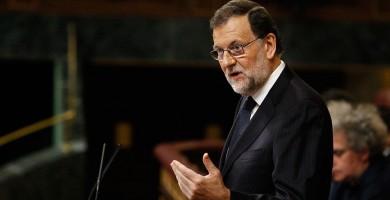"""Rajoy: """"No se puede dialogar sobre lo que está prohibido"""""""