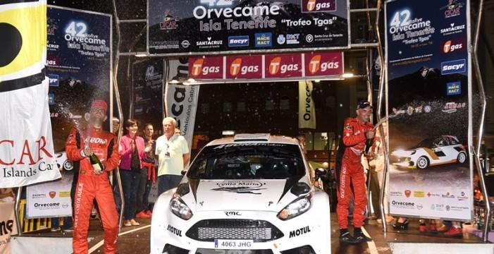Los Rallys Isla de Tenerife de asfalto y tierra modifican sus fechas sin moverse del mes de octubre