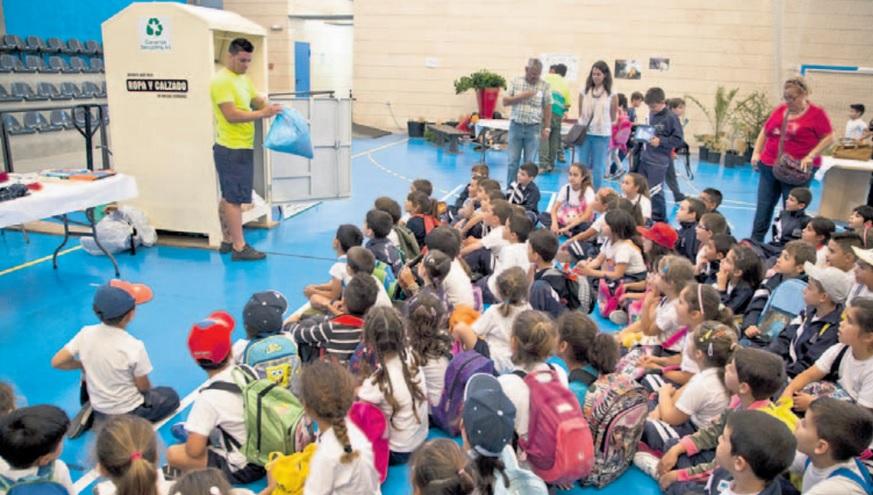 Aulas más sostenibles, del Cabildo de Tenerife