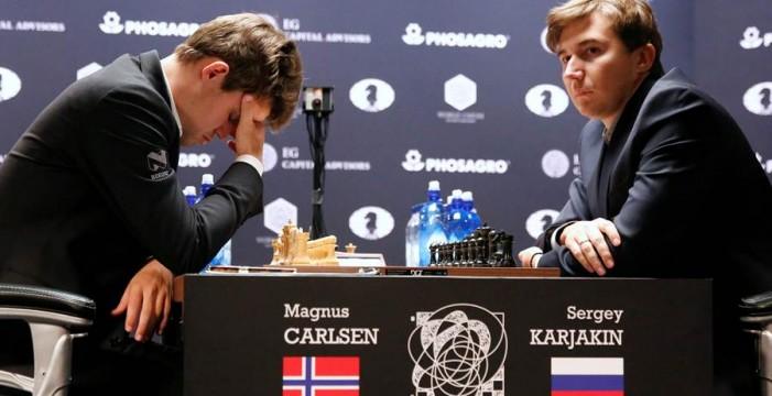 Sorpresón en el Mundial de Ajedrez: Karjakin se pone por delante