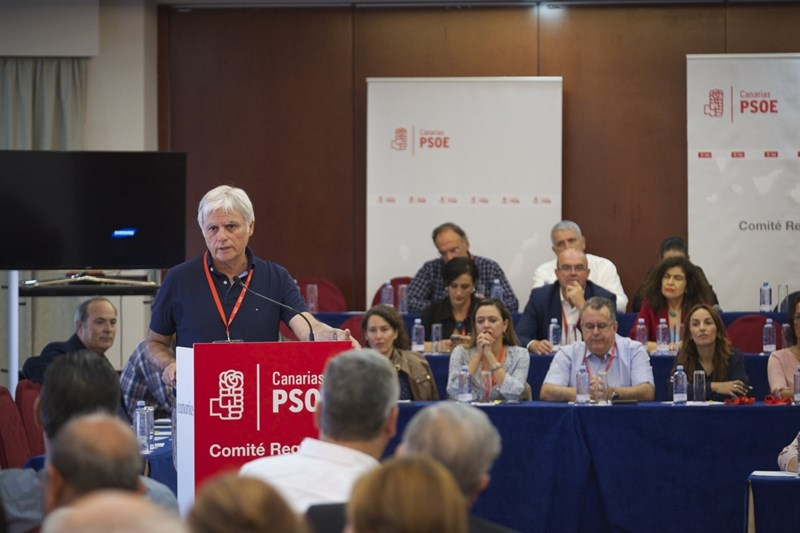 Un momento del Comité regional del PSOE. | EUROPA PRESS