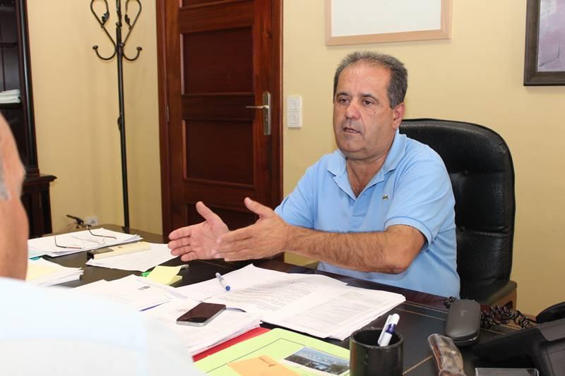 El vicepresidente del Cabildo, José Luis Perestelo