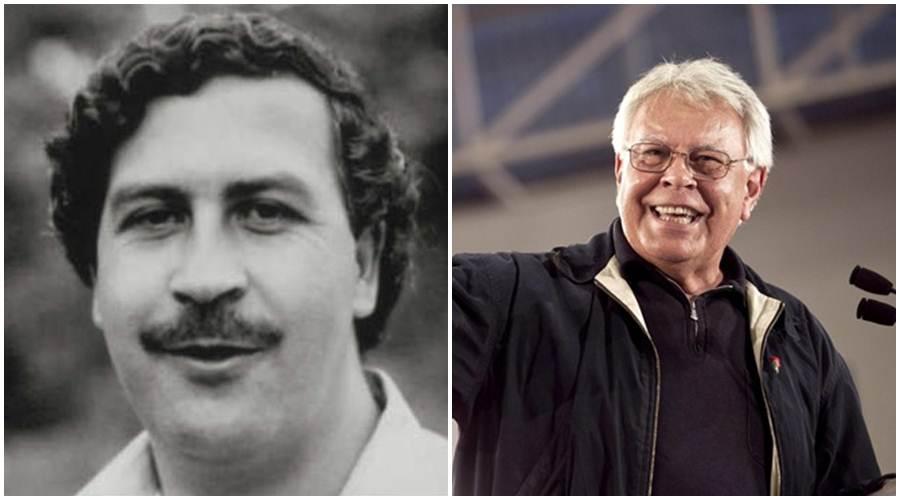 Pablo Escobar y Felipe González.   DA