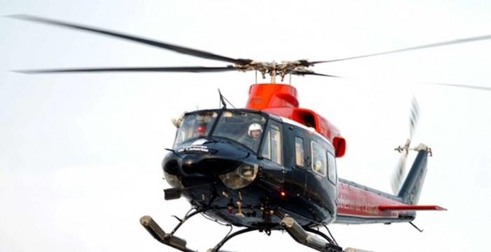 Rescatan en helicóptero a una senderista herida tras una caída en El Paso
