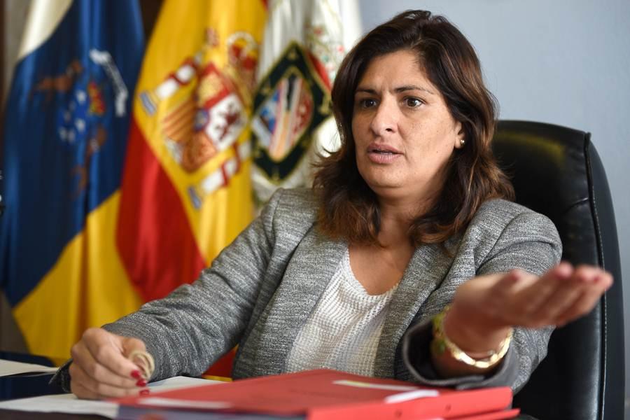 Luisa Castro durante la entrevista. | SERGIO MÉNDEZ