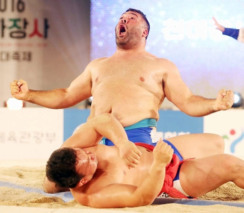 Marcos Ledesma final Mundial de Lucha Ssireum para extranjeros
