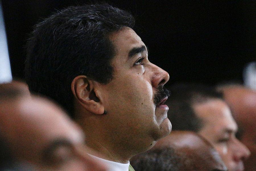 Nicolás Maduro asiste a una ceremonia en memoria de Fidel Castro en Caracas | FOTO: REUTERS/Marco Bello