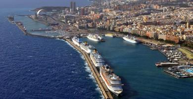 El túnel de la vía de servicio del puerto de Santa Cruz de Tenerife se abrirá al tráfico el lunes