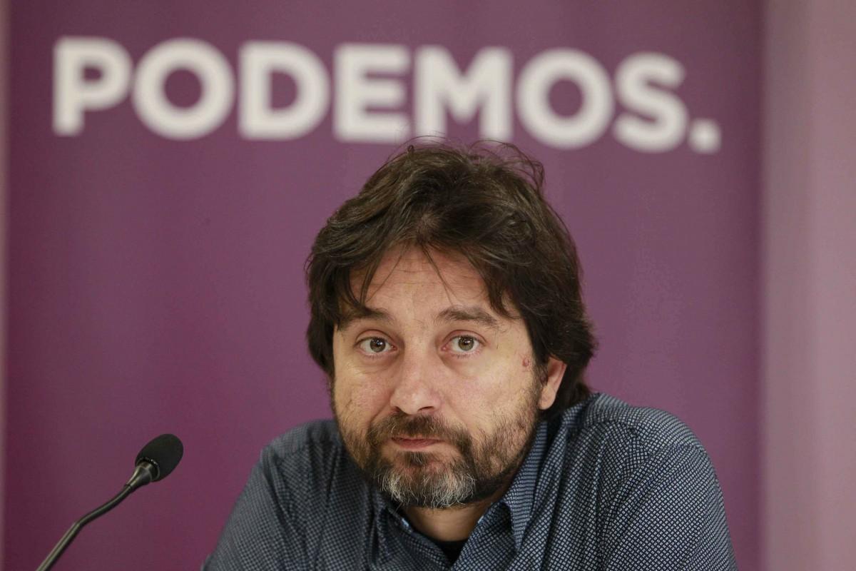 Rafa Mayoral, secretario de Relación con la Sociedad Civil y Movimientos Sociales de Podemos   EUROPA PRESS