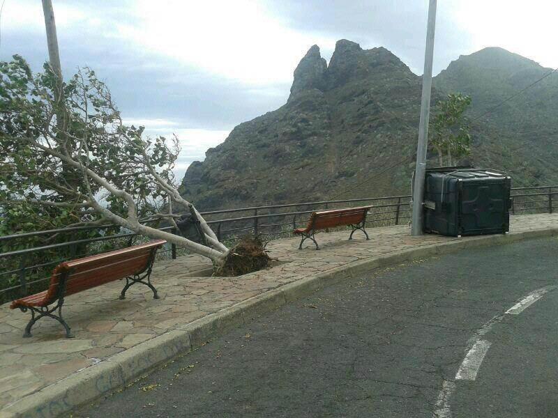 Roque de Dos Hermanos (Punta del Hidalgo). DA