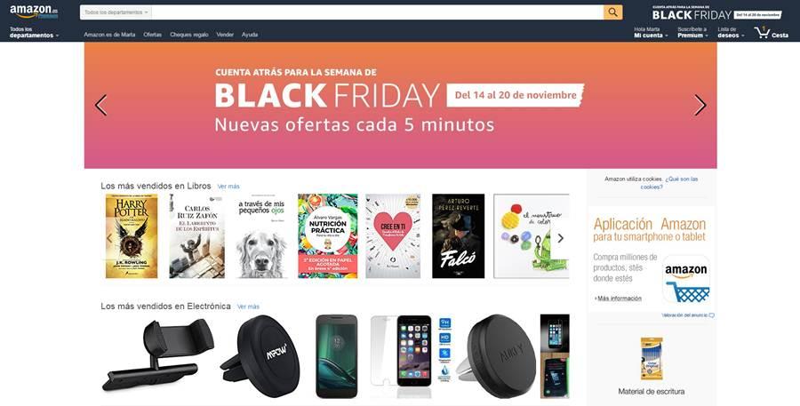 2e83ae247 Amazon se adelanta once días al 'Black Friday' con más de 10.000 ...