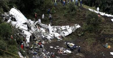 El avión del Chapecoense en el que murieron 71 personas volaba sin seguro
