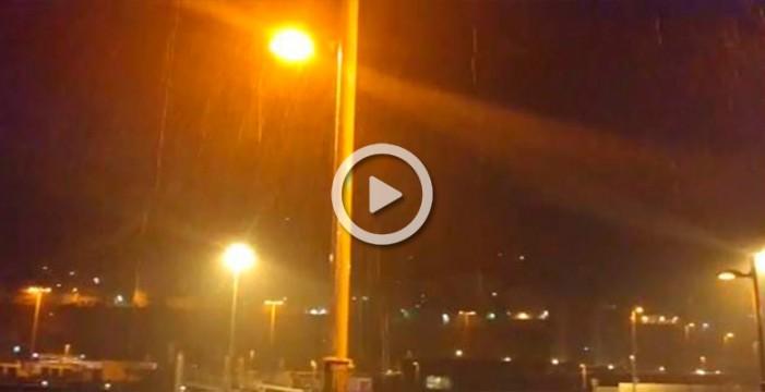 Aviso naranja por lluvias en La Palma