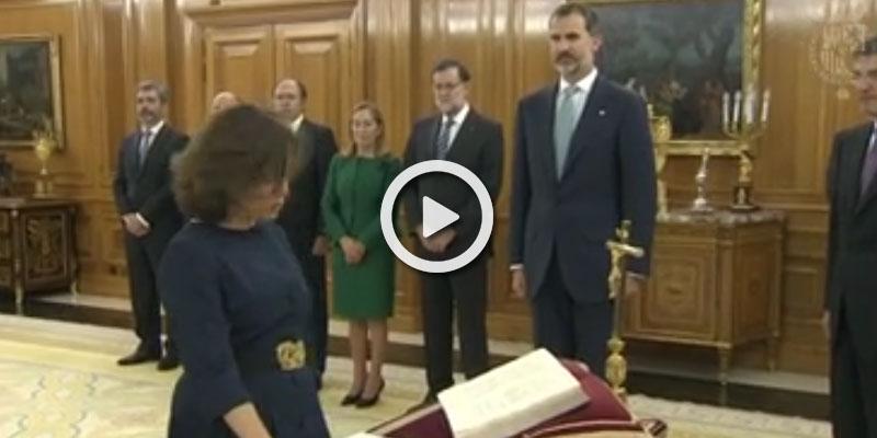 Todos los ministros del gobierno rajoy juran su cargo for Ministros del gobierno