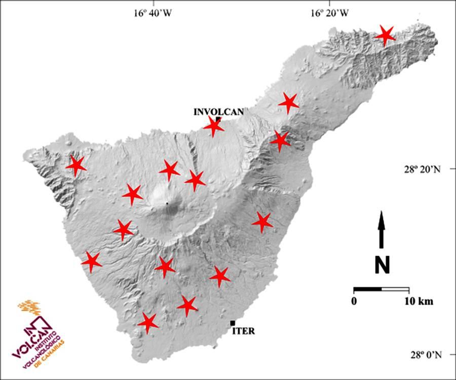 nuevas estaciones de vigilancia volcánica