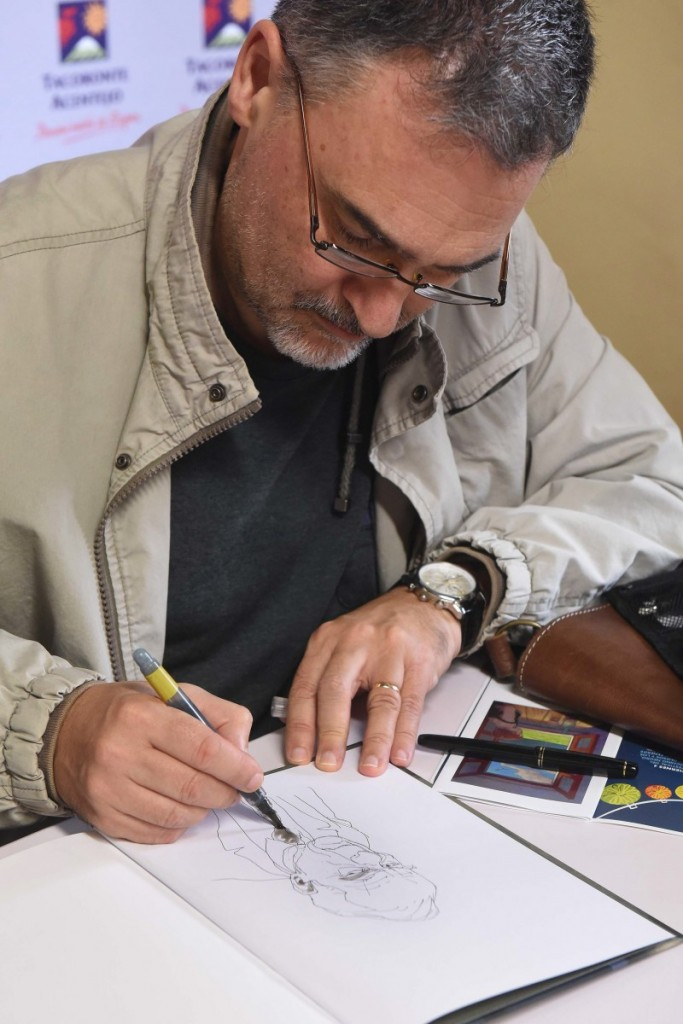 Miguelanxo Prado. / FOTO: SERGIO MÉNDEZ