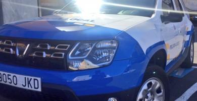 Detienen a un joven de 19 años tras causar dos accidentes en Santa Cruz con un coche robado