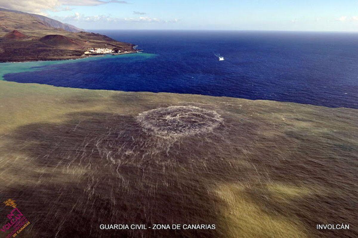 Última erupción volcánica en Canarias, frente a La Restinga, El Hierro, en 2011 | DA