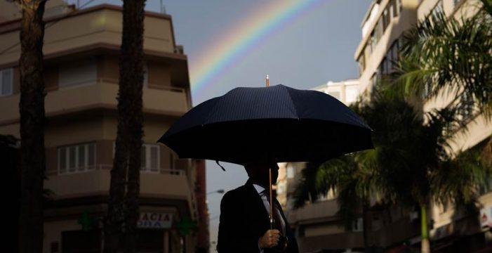 La lluvias en Canarias no llegan al 25% de lo normal desde el 1 de octubre