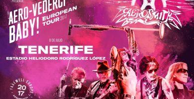 Aerosmith se despide de Europa en Tenerife