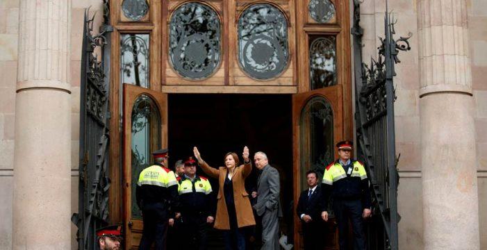"""Forcadell: """"Ningún tribunal puede impedir que el Parlament debata la independencia"""""""
