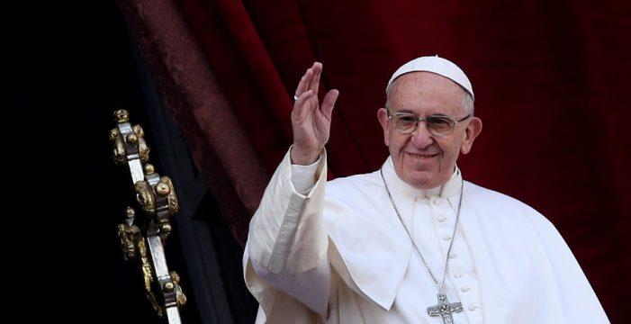 El papa pide que se respete el 'status quo' de Jerusalén