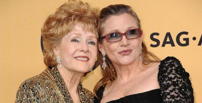 Muere la actriz Debbie Reynolds un día después que su hija, Carrie Fisher