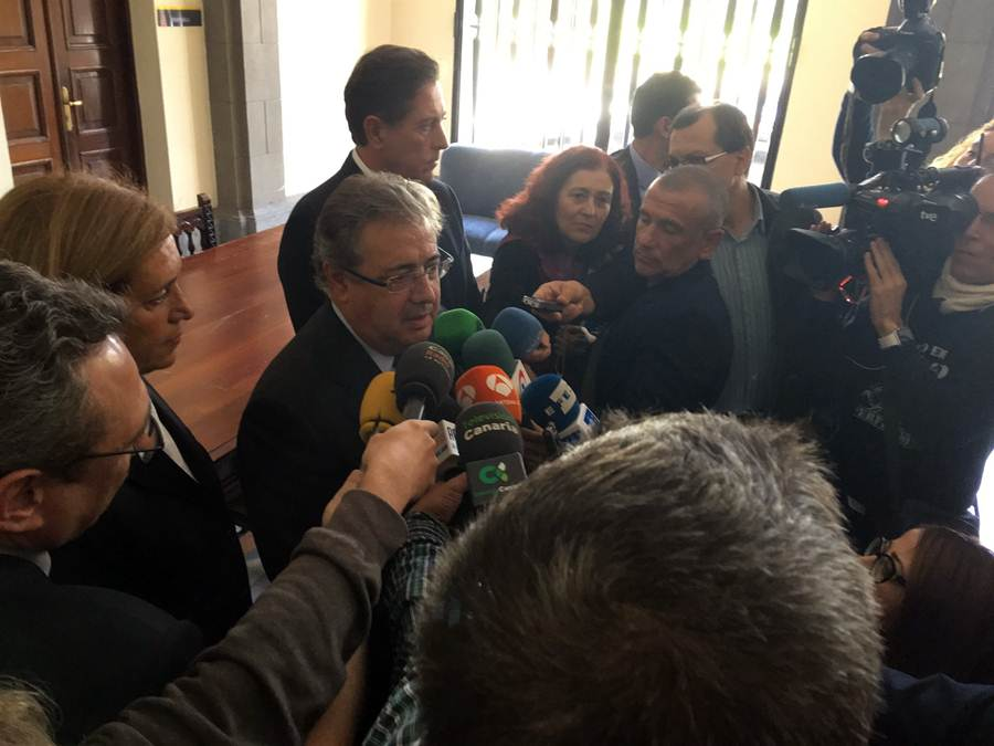 Interior aumenta la seguridad en los espacios p blicos y for Ministro del interior 2016