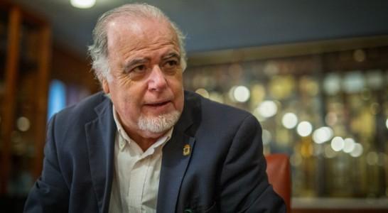 """Esteban Afonso: """"Esperamos que para finales de 2018 tengamos una nueva y gran instalación para el Orfeón"""""""