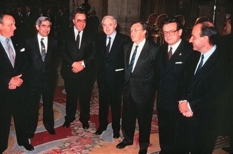 Los padres de la Constitución de 1978. / EP