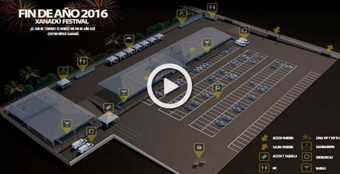 El Festival Xanadú inaugurará en fin de año un recinto que acogerá a 3.000 personas en Arona